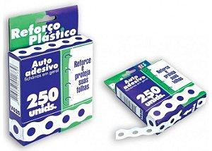 Reforço plástico auto adesivo para fichário - Yes Brasil