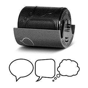 Cartucho de carimbos Deco Roller - Balões de fala - Plus