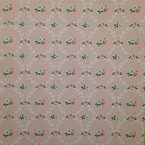 Papel para scrapbook - 30x30 Shabby 5 - Arte Fácil