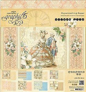 Bloco de papéis 20x20 Gilded Lily - Graphic 45