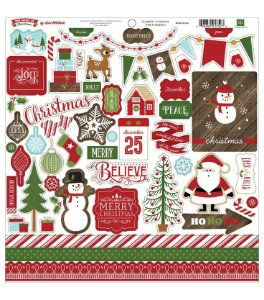 Adesivos 30x30 The Story of Christmas - Echo Park