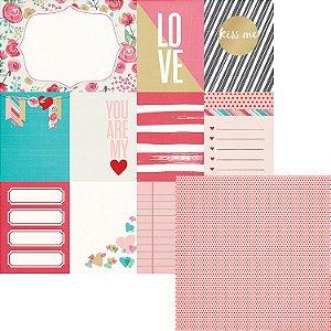 Papel Scrapbook - Crush Cards - We R