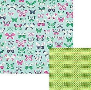 Papel Scrapbook - Flutter - We R