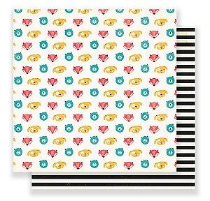 Papel Scrapbook - Buddy  - Crate Paper