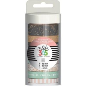 Kit de Fitas adesivas decorativa (Washi tape) WTT-13 Create 365 - Me & My Big Ideas