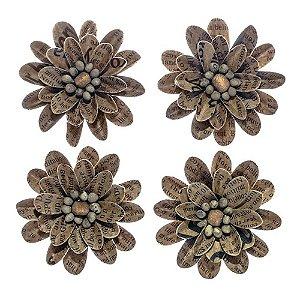 Flores artesanais Silvestre - Toke e Crie