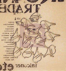 Clips de metal Passarinhos Lady Bird - Prima