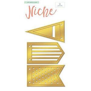 Facas de corte Bandeirinhas Niche - MME