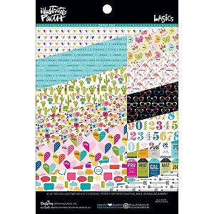 Bloco de papéis 20x15 Illustrates Faith - Basics - Bella Blvd