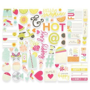 Die cuts Sunshine Happiness - Simple Stories