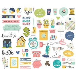 Die Cuts Domestic Bliss -  Simple Stories