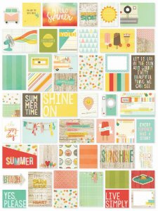 Cards Sn@p Summer Vibes- Simple Stories