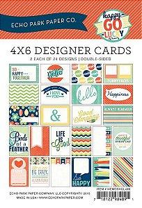 Cards Happy go Lucky 4x6 - Echo Park