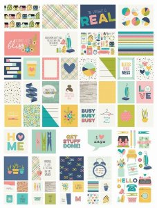 Cards e die-cuts Domestic Bliss - Simple Stories