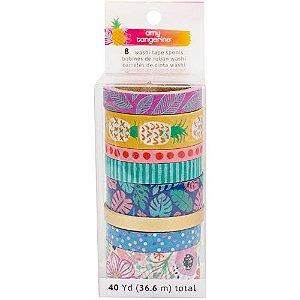 Kit de washi tape - Amy Tangerine - American Crafts