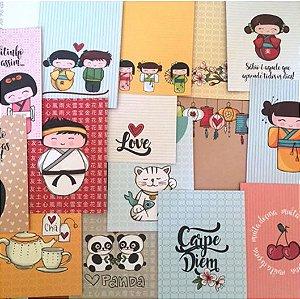 Kit de cards Love Japan - Goodies