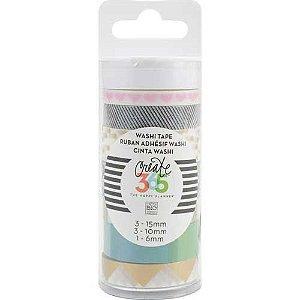Kit de Fitas adesivas decorativa (Washi tape) WTT-09 Create 365 - Me & My Big Ideas