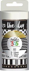 Kit de Fitas adesivas decorativa (Washi tape) WTT-12 Create 365 - Me & My Big Ideas