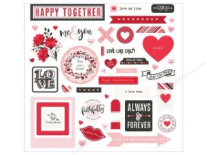Adesivos 30x30 So Loved - Amor - Photoplay