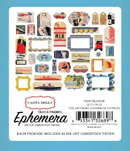Die Cuts Let's Cruise Carta Bella