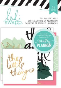 Kit de Cards com Foil Hello Beautiful - Heidi Swapp