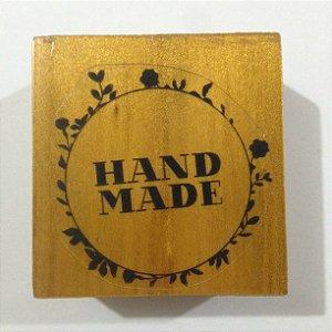 Carimbo de madeira Handmade - Arte Fácil