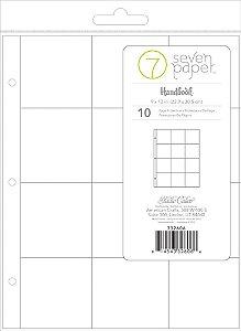 Refil para álbum 23x30 com 12 divisórias Handbook - Studio Calico