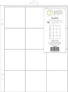 Refil para álbum 15x20 com 12 divisórias Handbook - Studio Calico