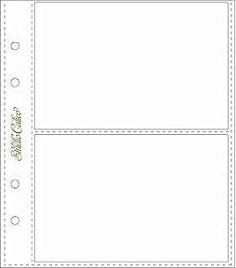 Refil para álbum 15x20 com 2 divisórias Handbook - Studio Calico