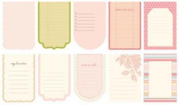 Bloquinho - Journaling Book Tags Ella - Making Memories