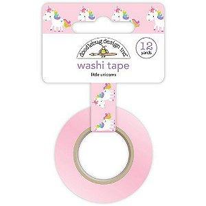 Washi tape Unicórnio - Doodlebug