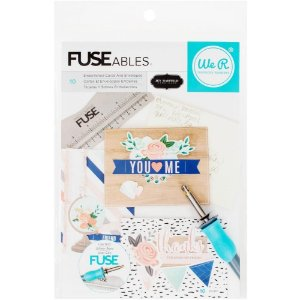 Kit para montar cards com envelopes Fuseables - We R
