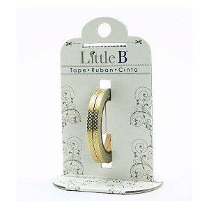 Washi tape - Little B (kit com 2) -  Gold Honeycomb