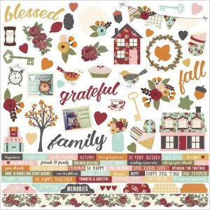 Adesivo 30x30 Vintage Blessings Simple Stories