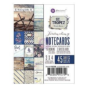 Bloco de cards 7,5x10 -St. Tropez - Prima