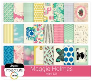 Kit de cards Maggie Holmes Mini Kit - Project Life