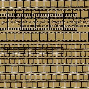 Papel scrapbook 30x30 Face Simples Filmes  Kraft TEC