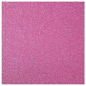 Papel 30x30 puro glitter Framboesa - Toke e Crie