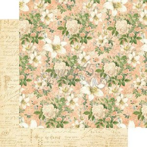 Papel Scrapbook 30x30 Dupla Face - Creme de la Creme - Gilded Lily Collection - Graphic 45