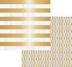 Papel Scrapbook 30x30 Dupla Face - Tinsel & Company com Foil - Teresa Collins