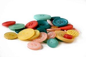 Botões Salt Air com 30 peças - Cosmo Cricket