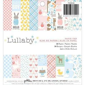 Bloco de papéis 15x15 Lullaby Pebbles