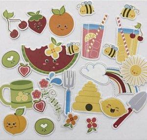 Die Cuts - Frutas fofas - Berrylicious - Imaginisce