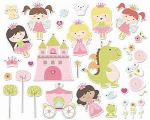 Die Cuts - Princesa - Make a Wish - Imaginisce
