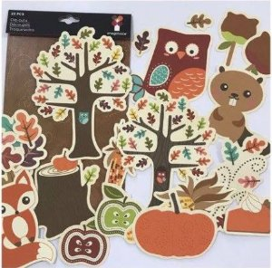 Die Cuts - Outono - Imaginisce