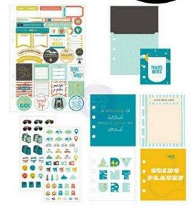 Kit de acessórios Viagem - My Prima Planner