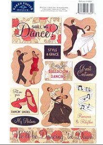 Adesivos Dança - Karen Foster