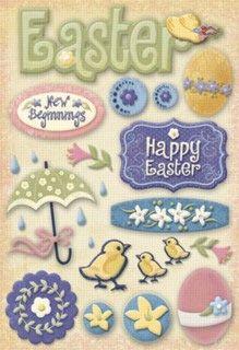 Adesivos Páscoa - Easter- Karen Foster