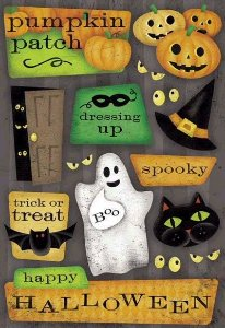 Adesivos Halloween - Karen Foster