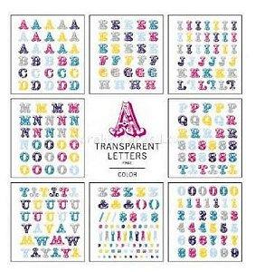 Adesivos 8 páginas de alfabetos - American Crafts